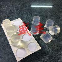 12*10透明防撞胶垫 防滑脚垫 防撞胶粒 自粘玻璃脚垫 特价直销