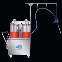 久耐机械厂家供应双组份AB胶配胶机,聚氨酯 环氧树脂双液自动配胶打胶机