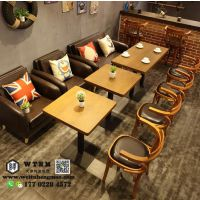 天津工业风餐桌椅 美式铁艺桌椅 仿古做旧餐桌椅