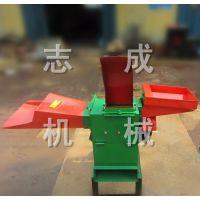 多功能家用小型粉碎机 单相电秸秆粉碎铡草机 省热工铡草粉碎机