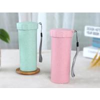 深圳厂家直销创意麦纤维便携随手塑料杯、广告礼品杯子可定制批发