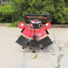 志成多功能四驱微耕机 农用小型旋耕机 家用小地块翻土耕地机