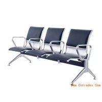 三连坐不锈钢等候椅*可定制3人位银行等候排椅*全不锈钢公共座椅价格