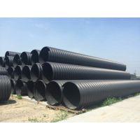 钢带增强管 大口径聚乙烯缠绕增强钢带管 规格齐全hdpe钢带管