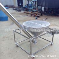 榆社县不锈钢污泥螺旋管式输送机 配套上料输送机 圆管绞龙提升机