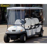 卓越新款8座電動觀光車|樓盤看房車|景區游覽電瓶車帶翻轉座椅
