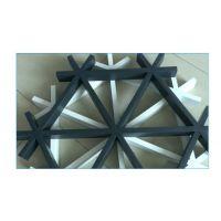 广东德普龙 外墙用木纹色六角形铝格栅 厂家供应