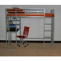 专业生产高品质 大学公寓床 简约钢管床 金属上床下桌公寓学生床