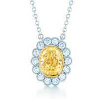广州18K黄金首饰加工厂 钻石戒指定制 灵动钻石项链加工