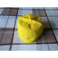 非洲尼日利亚新款刺绣羊毛帽 Africa Nigeria embroidered wool cap