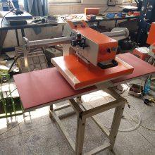 直销气动双工位上滑式陶瓷烫画机毛巾玻璃热转印机玩具上滑式气动双工位烫画机-上滑式气动双工位烫画机批发