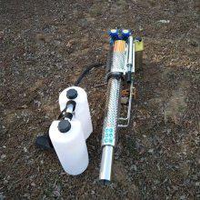 厂家生产双管不锈钢烟雾机 树苗杀虫用打药机 大棚喷药农用机
