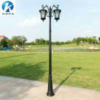 长治户外庭院灯 晋城小区花园庭院灯批发 江苏科尼10米双臂路灯价格