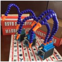 开关式磁性喷油表机床油座单管双管三管磁性冷却器油管喷气管吹气 火花机磁性喷油座 机床配件 万向油