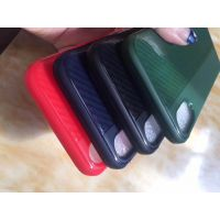 苹果iPhone6s/6Plus/7Plus/8P手机壳5S/SE碳纤维纹全包软壳 X防摔