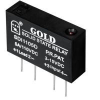 【固态继电器220v】直流小型固态继电器 SDE1104D原水处理设备使用 江苏固特厂家直销