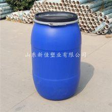 山东新佳HDPE材质200升铁箍桶200升卡箍桶优质供应商