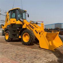 挖掘装载机铲车挖机一体机价格改装挖机厂子图片河北邯郸中首重工