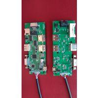 Type-c HUB扩展器转4K高清HDMI传输USB3.0转接器带读卡拓展坞