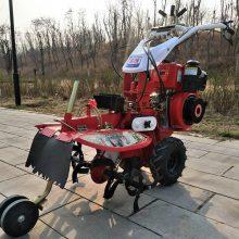 志成新型大葱开沟机多功能小型柴油除草田园管理机