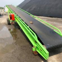 廊坊双变幅输送机 滚筒式粮食专用输送机