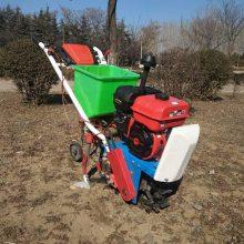 小型松土翻地趟地机 多功能手推式播种施肥机 双行玉米施肥机