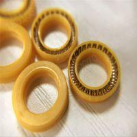 上海勤图黄色UPE泛塞封,耐磨损弹簧密封圈,9*5*2.3密封圈,厂家直销