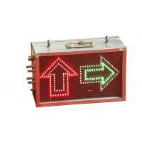 矿用弯道语音报警器安装使用说明 金科星红绿灯语音报警器