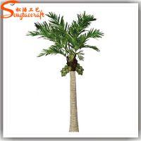 松涛工艺厂家直销仿真椰子树玻璃钢人造椰子树大型落地绿植物室内室外景观装饰尺寸可定制
