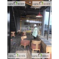 上海韩尔品牌 供应镇江星巴克HL-021咖啡桌椅 星巴克家具定做