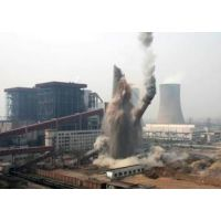 苍南电厂烟囱拆除专业施工队为您服务