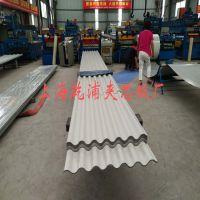 上海1.0MM厚度YXB35-130-780大波浪彩钢瓦加工