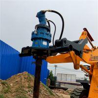 销售电线杆挖坑机 快速施工 电线杆打眼机钻头价格akz