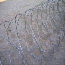 安平刀片刺绳 铁路刺丝滚笼 刺丝价格