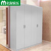 M11简约现代四门衣柜大连板式家具工厂直销
