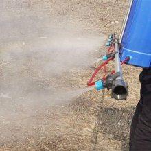 农作物灭虫打药机 3.6米长喷杆式打药机价格 多功能背负式喷药机