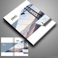 企业宣传画册设计印刷,铜板纸商业杂志期刊设计印刷