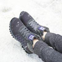 孝心圆锗磁加绒女鞋