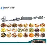 洋葱圈休闲食品生产线 膨化食品设备生产线