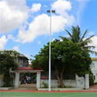 饒平籃球場燈杆 免費設計燈杆位置擺放 生産廠家直銷送貨安裝