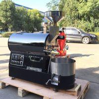 含温度曲线数据智能咖啡烘焙机 咖啡生豆加工烘焙 2公斤咖啡烘焙机