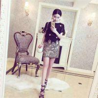 杭州品牌欧洲站18夏款女装折扣货源 时尚夏装一手尾货