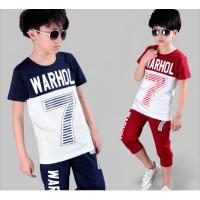 湖州织里中国童装批发货到付款中小童3-8岁140cm以下纯棉童装短袖T恤衫批发