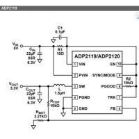 ADP2119ACPZ-R7 16+ LFCSP 其他IC同步降压DC-DC调节器【ADI进口原装】