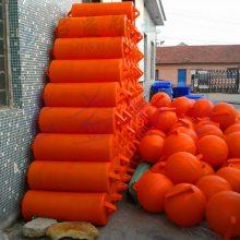 两头尖圆柱浮筒 浮筒橙色红色黑色都可订做