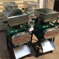 多功能燕麦挤扁机 家用小型豆扁机 高粱破碎机 电动小型