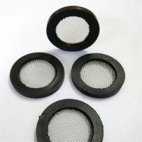 YF1寸橡膠包邊水表濾網外徑30mm過濾網墊片304濾網40目