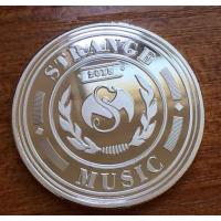 北京黄铜纪念币定做金属纪念币双面logo制作纯银币厂家