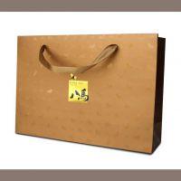 供应牛皮纸袋 手提礼品包装纸袋定做 彩色服装纸塑手提袋定制