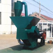 养殖场玉米饲料粉碎机 多功能锤片式粉碎机 自动进料牛羊猪饲料破碎机